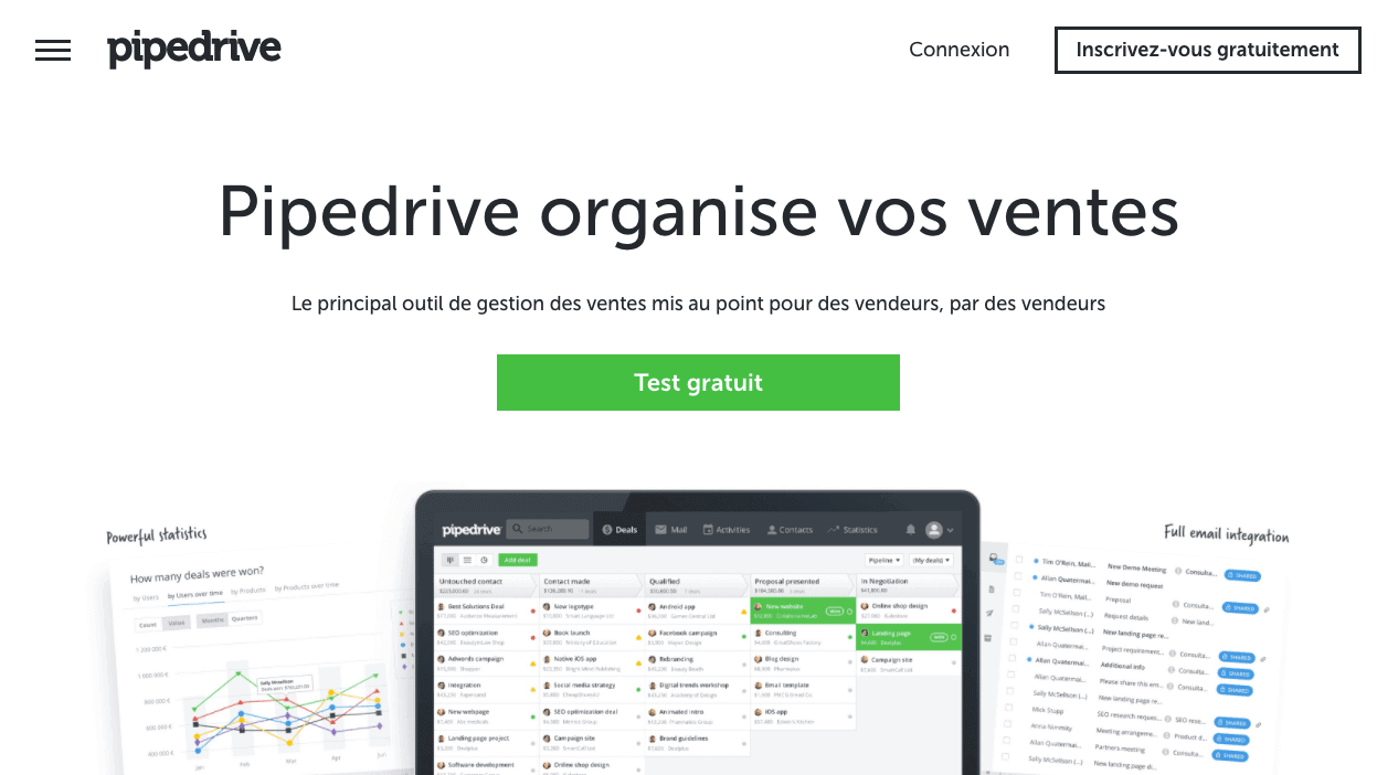 outils sales automation pipedrive