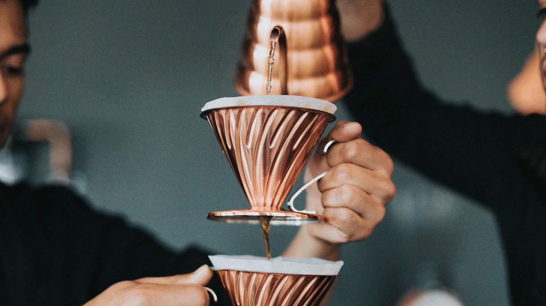 Photo d'un filtre à café