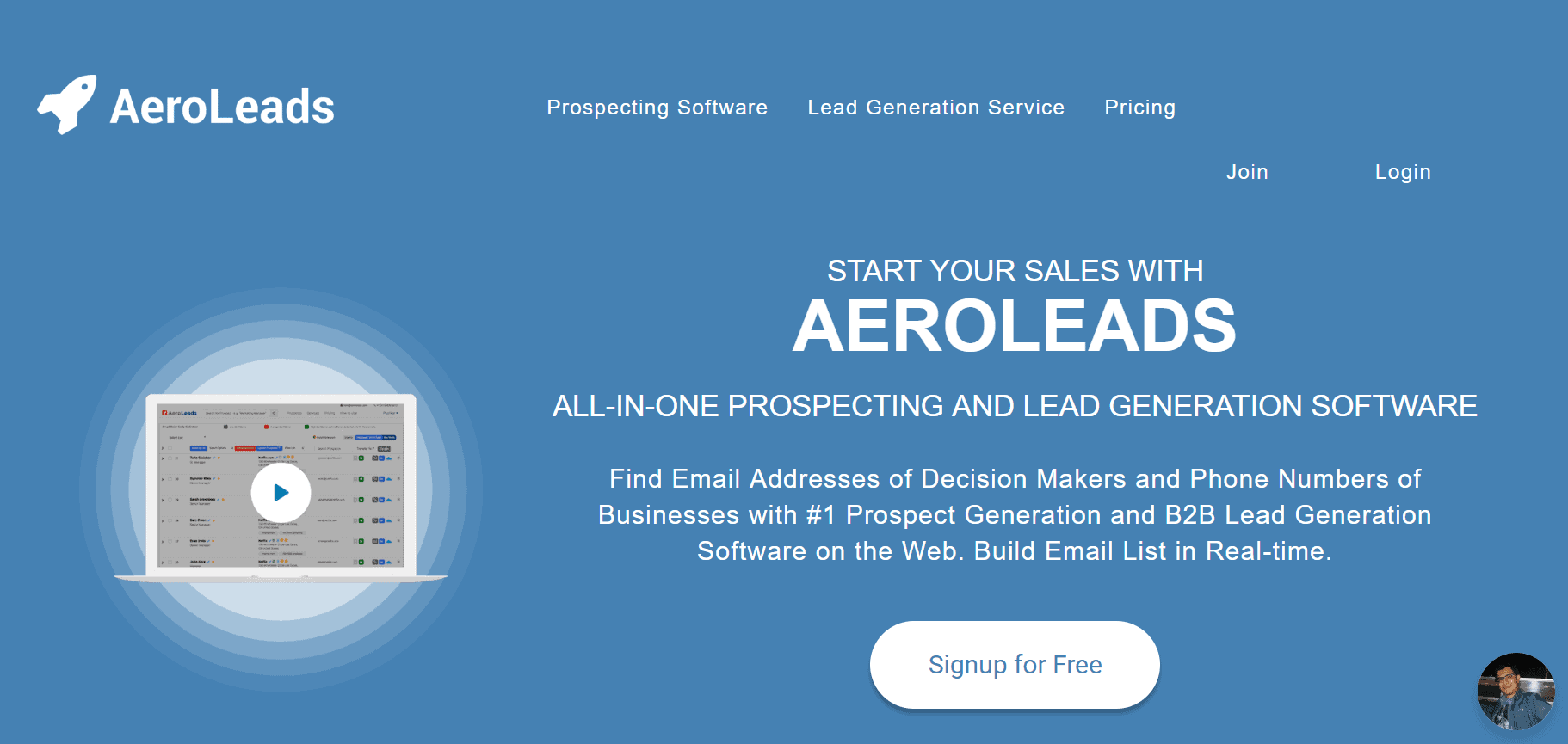outils prospection b2b aeroleads