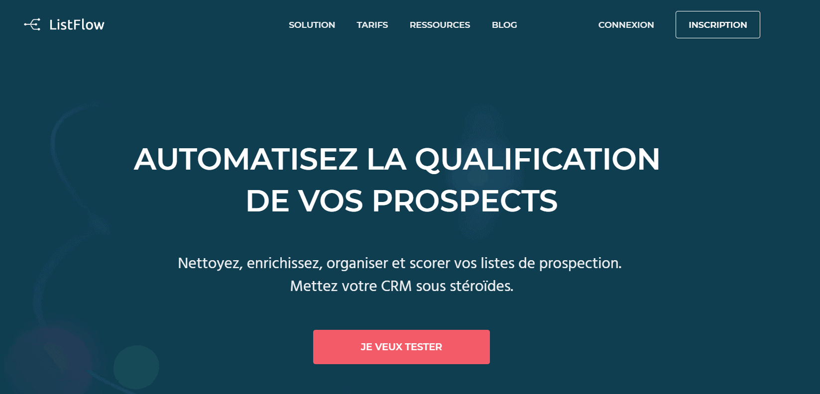 outils prospection b2b listflow