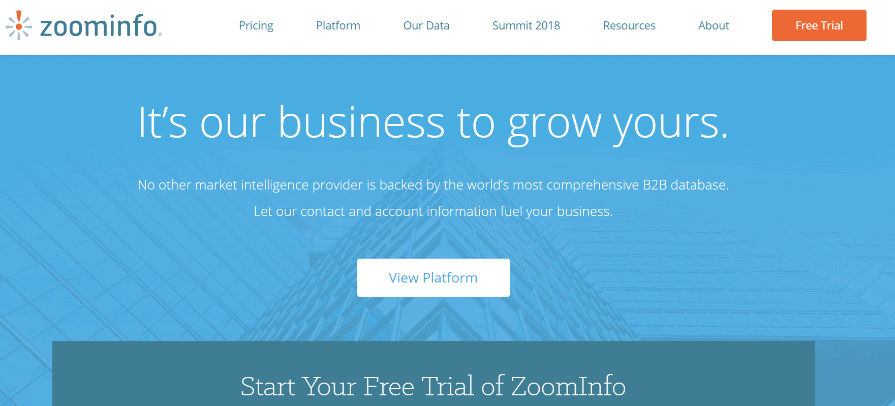 outils prospection b2b zoominfo