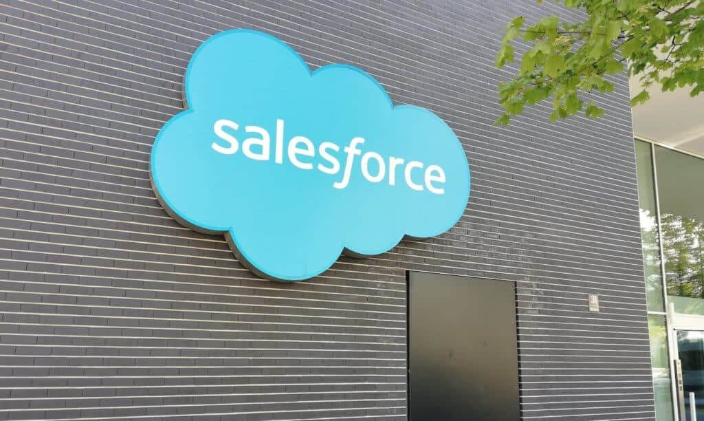 Photo de l'entrée de Salesforce