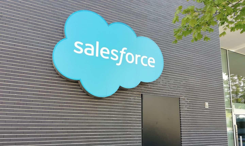 Photo de l'entrée de Salesforce