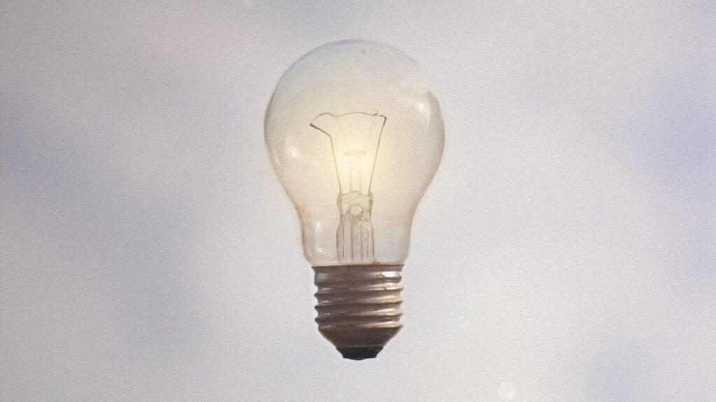 Photo d'une ampoule