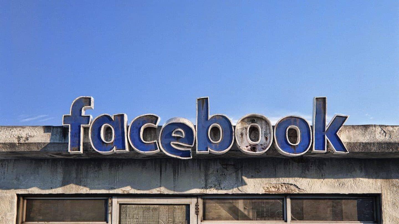 Photo d'une enseigne facebook ancienne