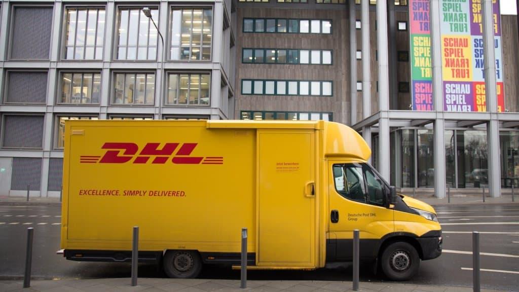 photo d'un camion de livraison