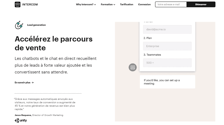 landing-page-Intercom