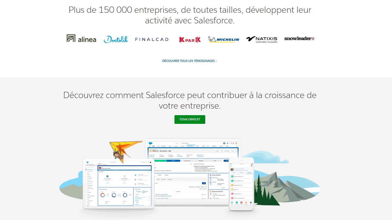landing-page-Salesforce