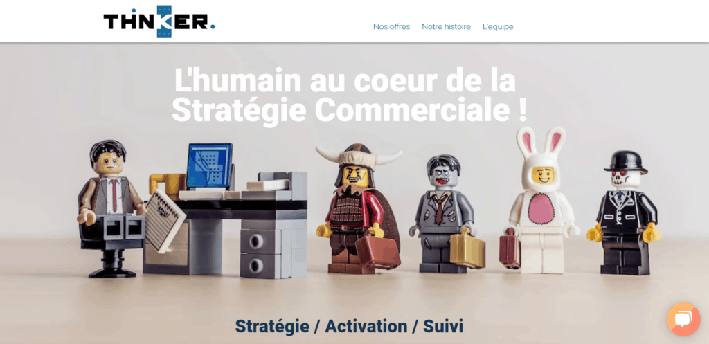 call center thinker agence