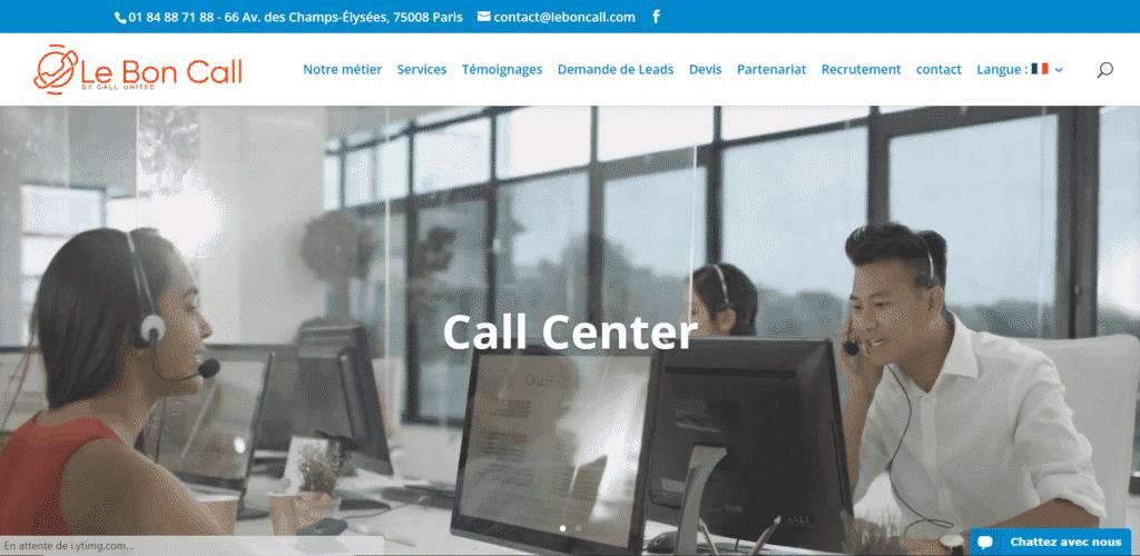 call center leboncall