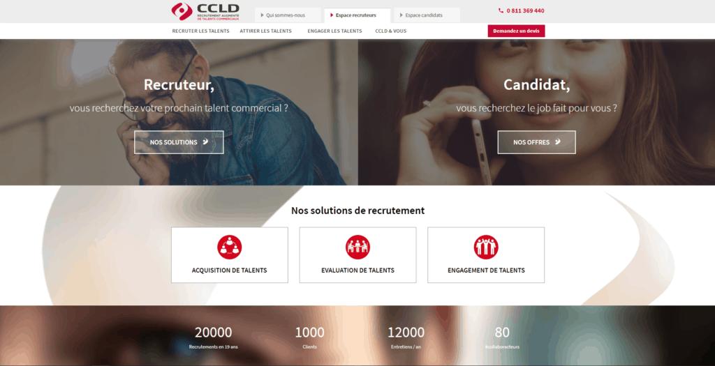 Cabinets recrutement commerciaux CCLD