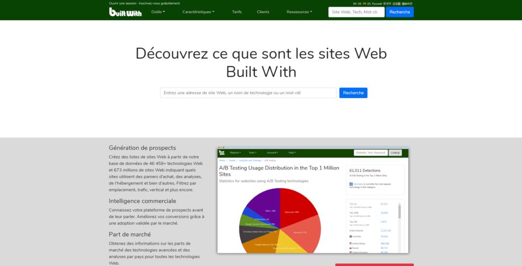 enrichissement données B2B Buildwith