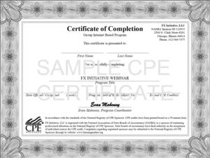 GoToWebinar certificat