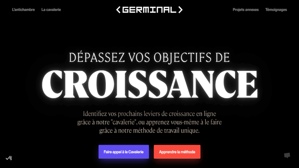 agence growth hacking germinal