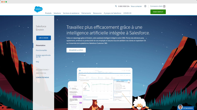 outils account based marketing SF einstein