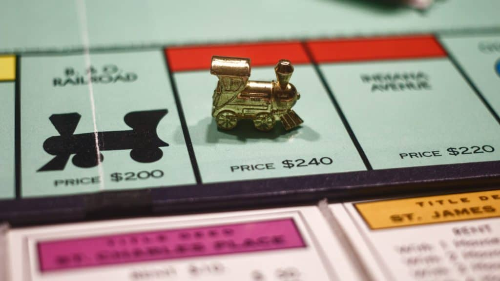 plateau de monopoly