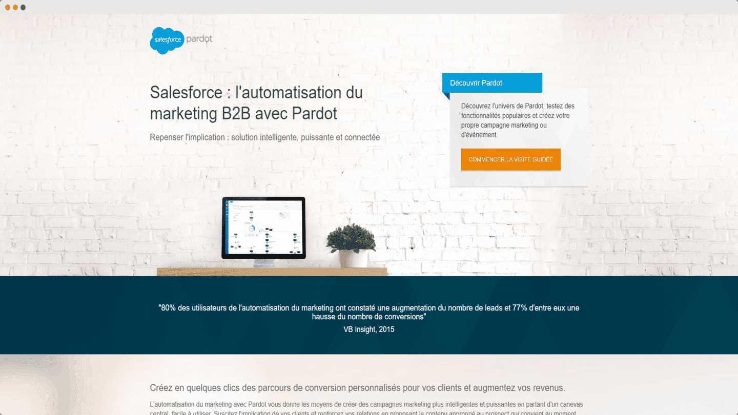 outils account based marketing pardot