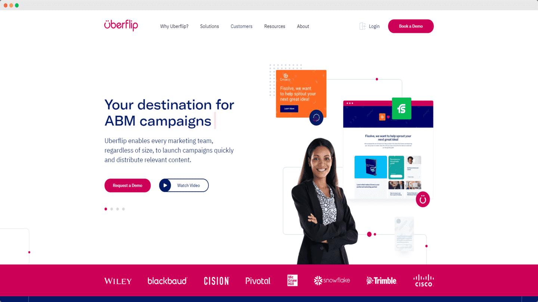 outils account based marketing uberflip