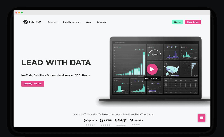 homepage de grow