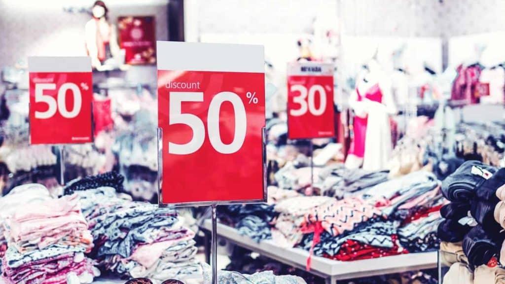 soldes de vêtements