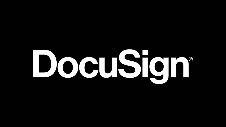 Logo de docusign
