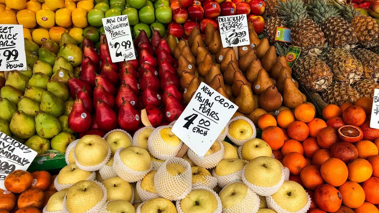 marché prix fruits