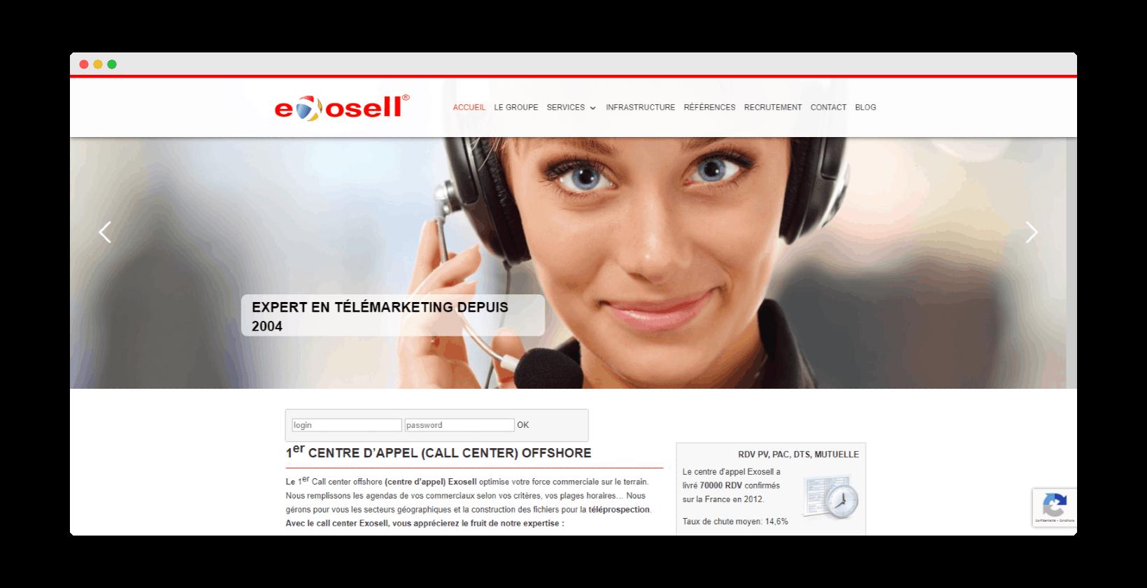 exosell call center